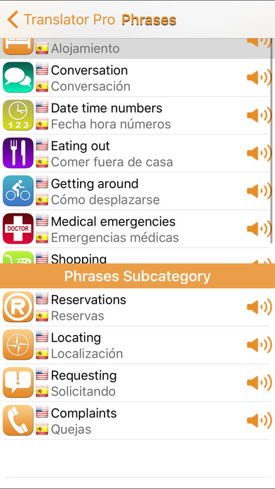 Translator 42 Languages screenshot 3