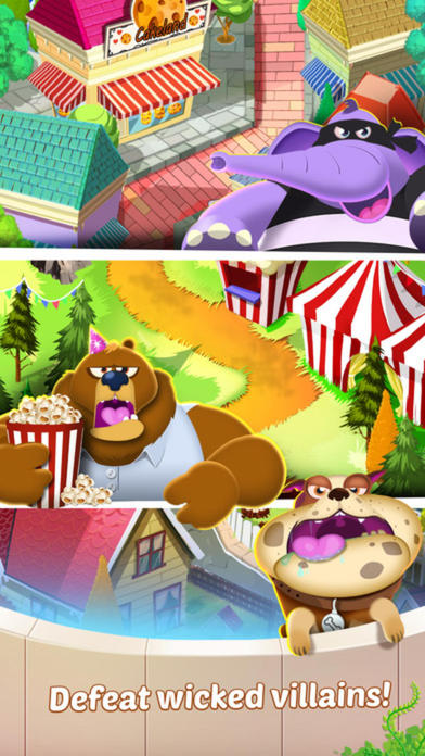 Cookie Chef - splash sweet feed your pet Screenshot