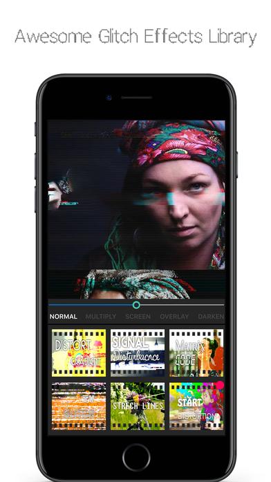 App Shopper Glitcher Trippy Video Editor 3d Glitch Art