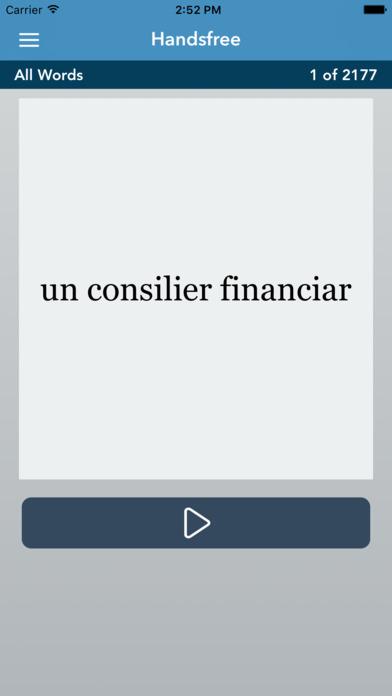 AccelaStudy® Romanian | Arabic iPhone Screenshot 3