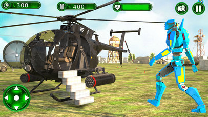 Super Helicopter Robot Hero screenshot 2