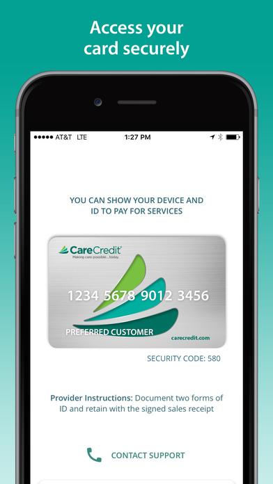 CareCredit Mobile App screenshot 5