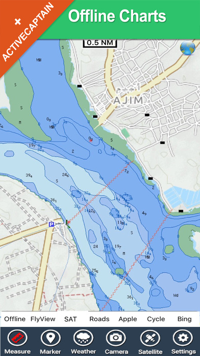 Djerba (Tunis) HD - Travel Map Navigator iPhone Screenshot 2