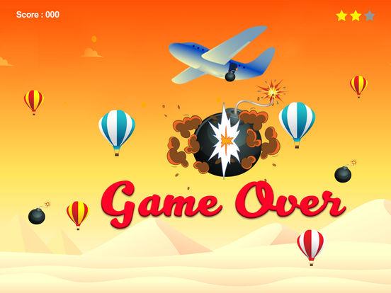 Parachute Crush - finger tap crush top free games iPad Screenshot 2
