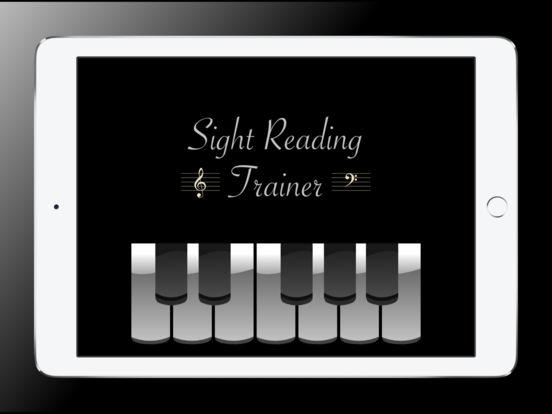 Sight Reading Trainer for iPad iPad Screenshot 1