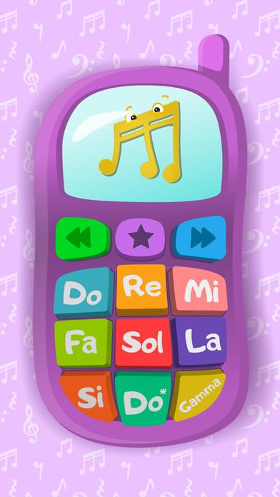 Телефон: игры для самых маленьких детей 3 - 5 лет screenshot 3