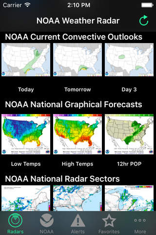 NOAA Weather Radar screenshot 1