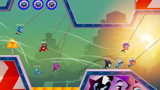 Rope Racers - Весёлые мультиплеерные гонки Screenshot