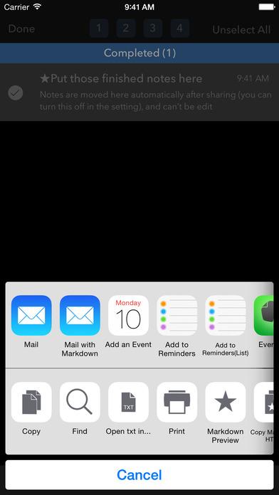 NoteBox - Simple & Powerful Screenshot