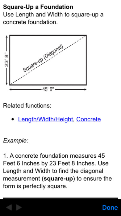 ConcreteCalc Pro iPhone Screenshot 4