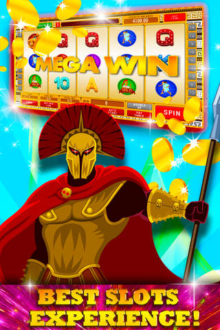 Roman's War and Glory Slots: Win the casino empire and hit the big jackpot screenshot 1