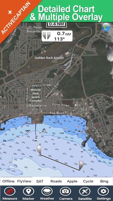 Grenadines & Grenada - GPS Map Navigator iPhone Screenshot 1