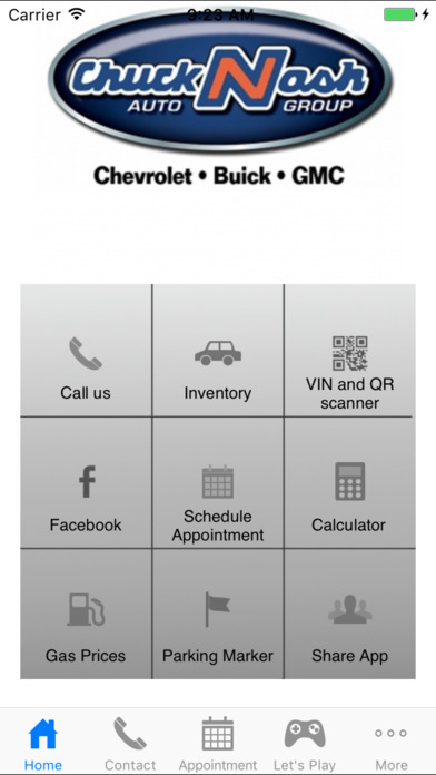 Chuck Nash Auto Group iPhone Screenshot 1