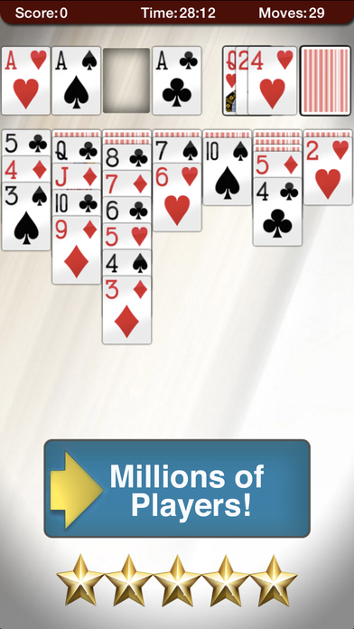Screenshot 3 Solitaire 2.0 -Play the Classic Card Game for Free