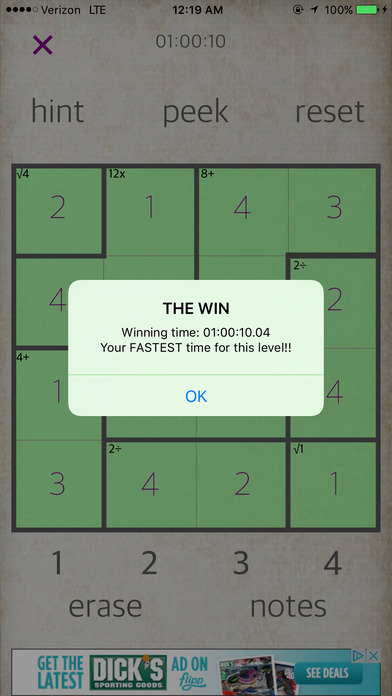 Sudoku Math iPhone Screenshot 3