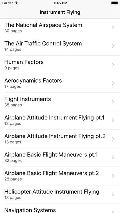 FAA Instrument Flying Manual iPhone Screenshot 2