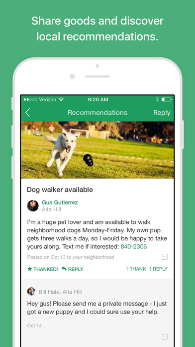 Nextdoor - Neighborhood News, Classifieds, Crime Watch, Local Events, and More screenshot