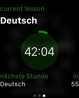 Stundenplan iPhone Screenshot 9