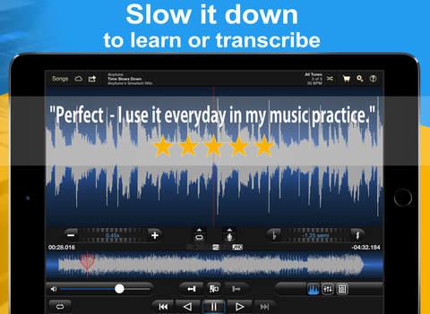 Anytune - Slow down music BPM anywhere.