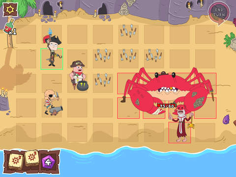 Thirty Days & Seven Seas – Pirate Battle Board Game Starring Clarence, Jeff and Sumo screenshot