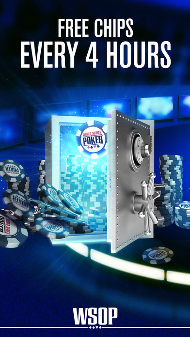 Screenshots of World Series of Poker - WSOP Texas Holdem Free Casino for iPhone