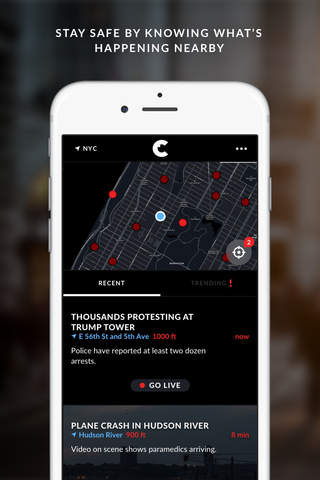 Citizen: Safety & Awareness screenshot 1