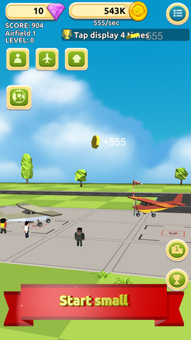 Airfield Tycoon Clicker Screenshot