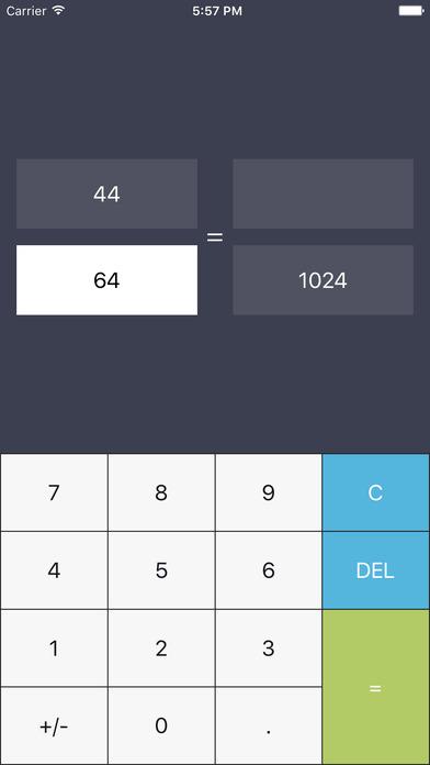 Proportion Solver iPhone Screenshot 1