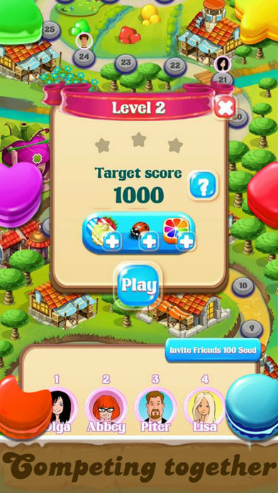 Jelly Crush Match 3: Cookie Blast Mania For Kids Screenshots