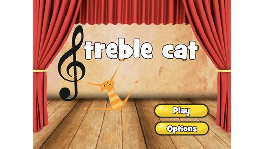 Treble Cat - Узнайте о том, как читать ноты Screenshot