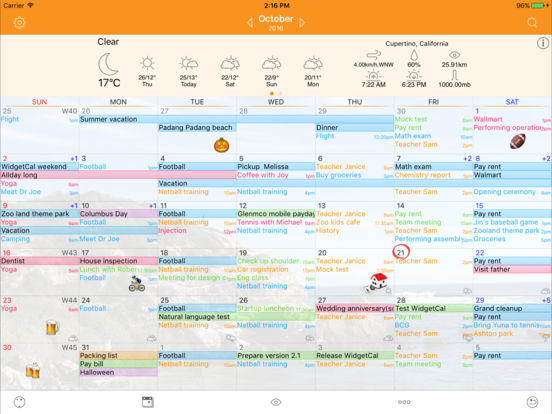 Awesome Calendar - Personal Planner Screenshots