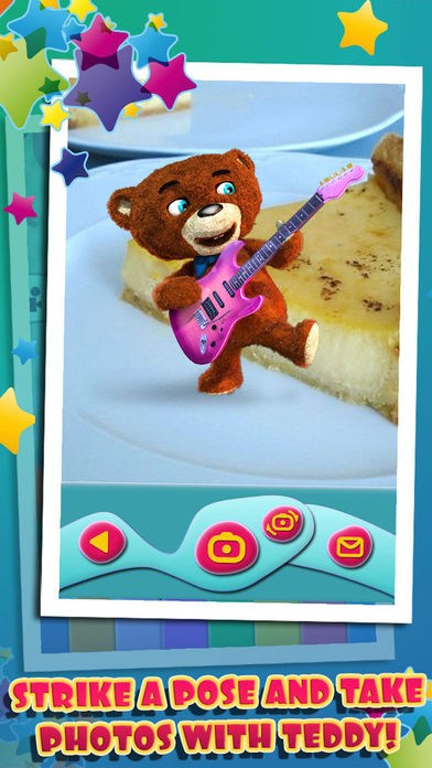 Playing Teddy Bear iPhone Screenshot 5