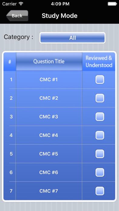 AACN CMC Cardiac Medicine Subspecialty Exam Prep iPhone Screenshot 2