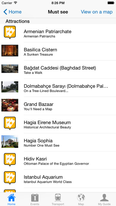 Istanbul Travel Guide Offline iPhone Screenshot 4