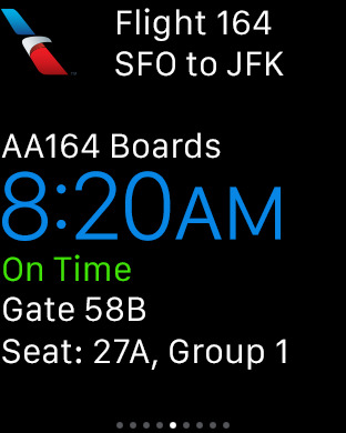 American Airlines iPhone Screenshot 10