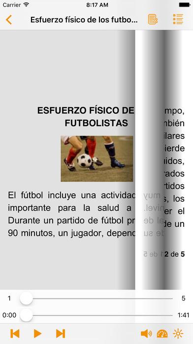 Todo sobre el Fútbol - AudioEbook iPhone Screenshot 2