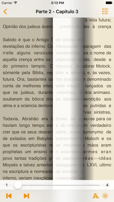 O Inferno - Augusto Callet (Português) iPhone Screenshot 2