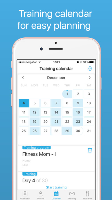 download Demifit: Fitness for women apps 4