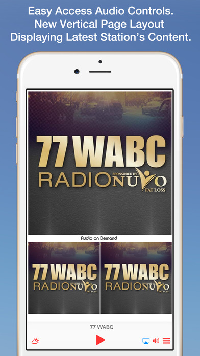 77 WABC iPhone Screenshot 1