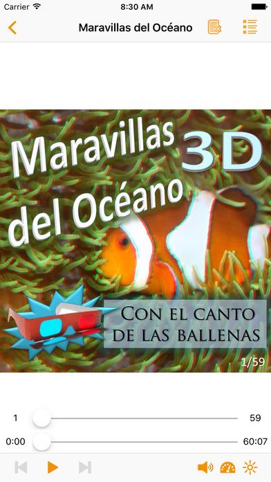 Maravillas del Océano 3D iPhone Screenshot 1