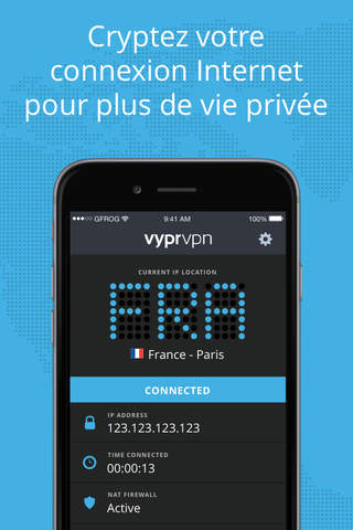 VPN - Fast & Secure VyprVPN screenshot 1