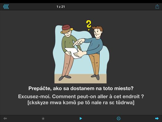 Cestovný prekladač iPad Screenshot 4