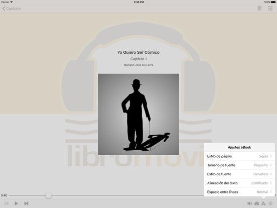 Yo Quiero Ser Cómico - AudioEbook iPad Screenshot 2