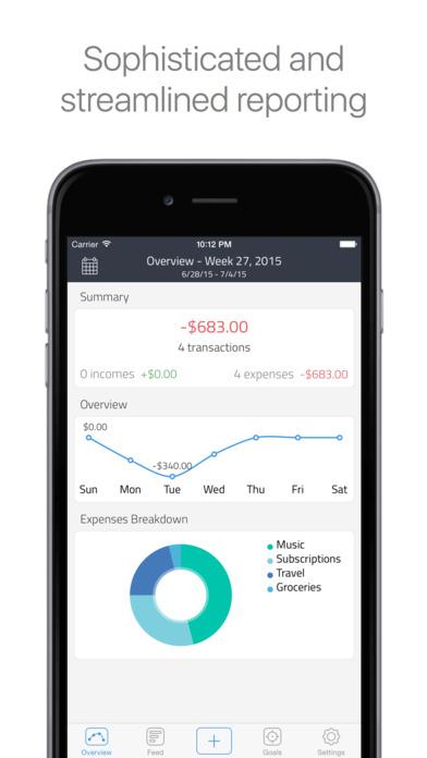 Change - Personal Finance Management Screenshot