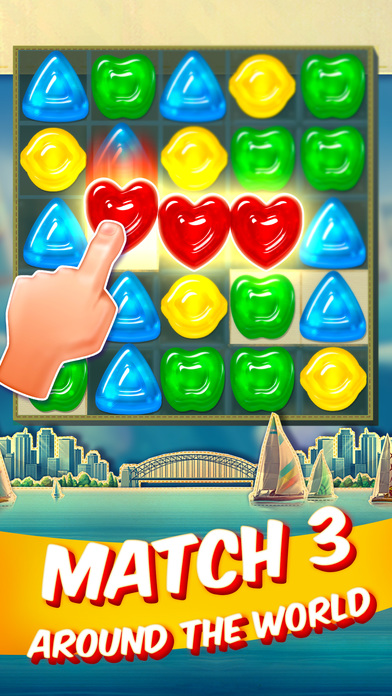 Gummy Drop A Match 3 Puzzle Game hack tool Moneys