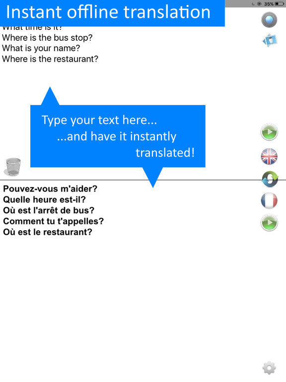 Translate Offline:French-English Translator Pro HD Screenshots