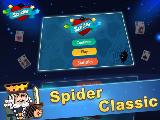 Ace Spider Unlimited Free HD iPad Screenshot 2