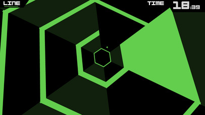 دانلود بازی Super Hexagon برای آیفون و آیپد - تصویر 2