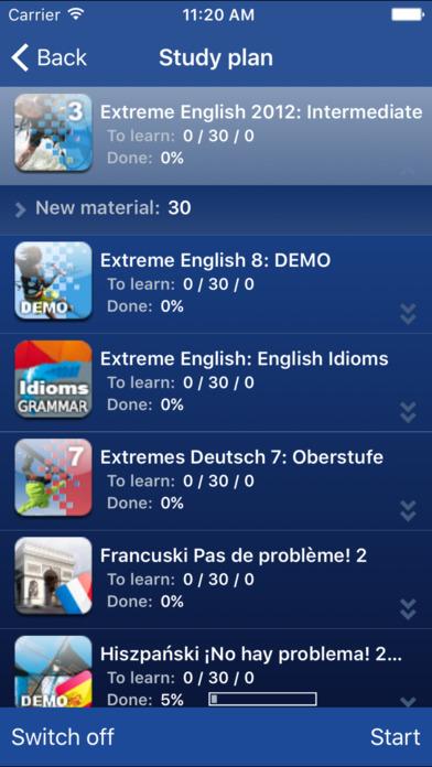SuperMemo iPhone Screenshot 2