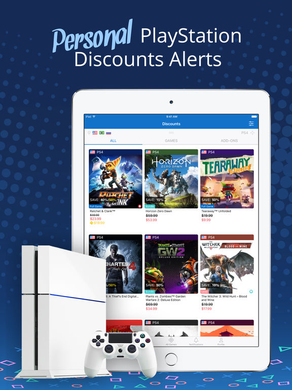 PS Deals - Price Tracker for PlayStation Store App Screenshots